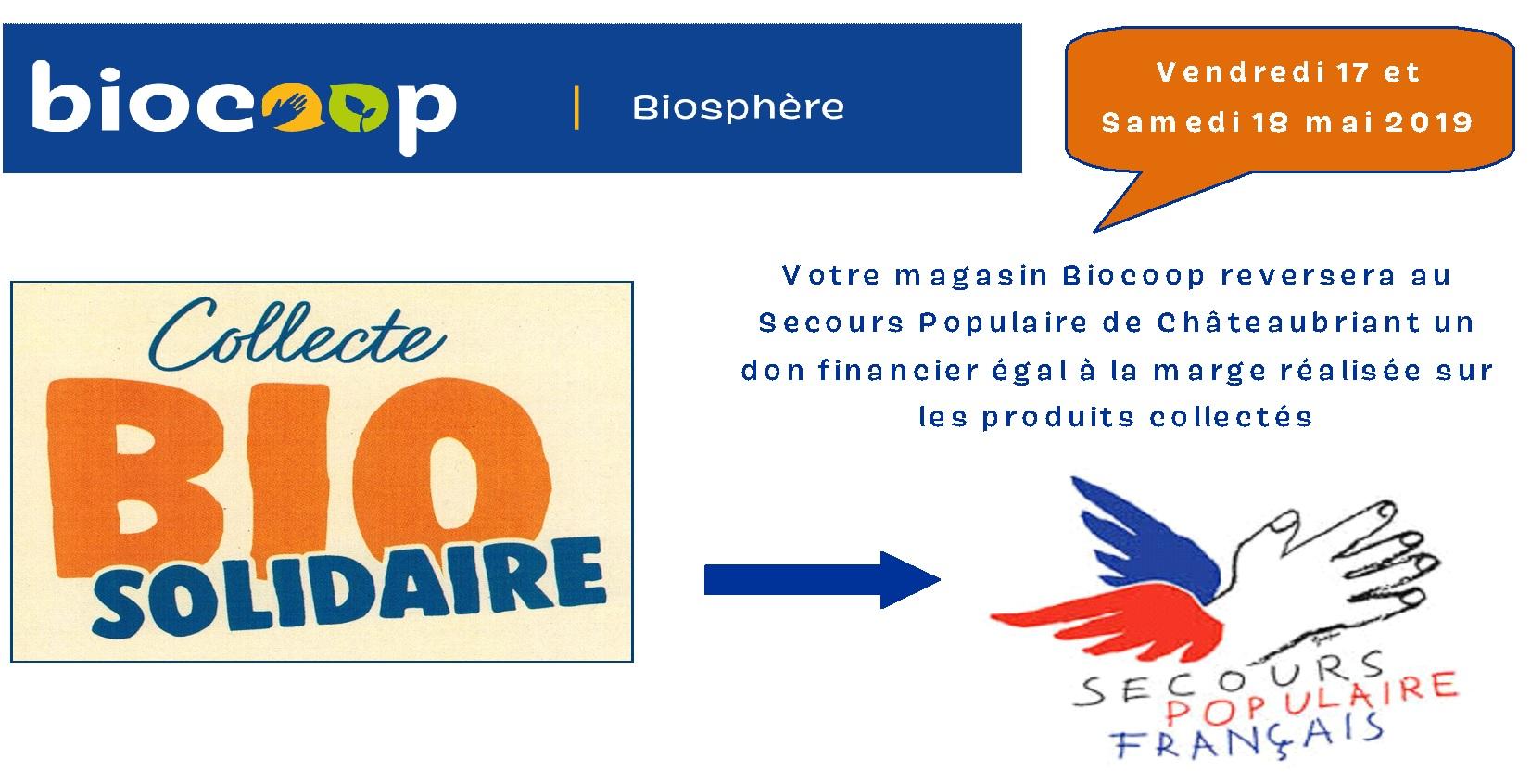 ab6a2aa1025 Biocoop Biosphère - Magasin bio à Châteaubriant.