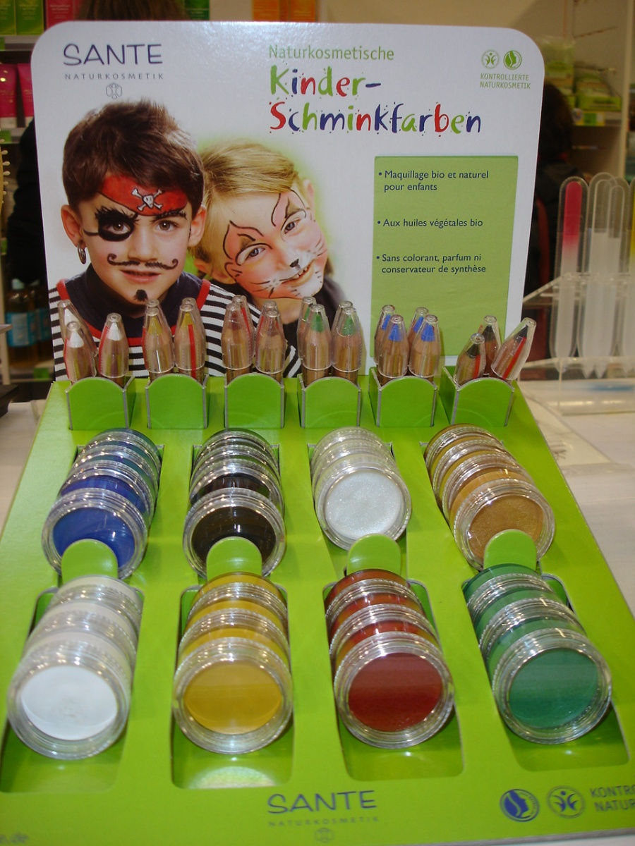 SANTE NATURKOSMETIK  Maquillage BIO pour enfants  Kidstendance